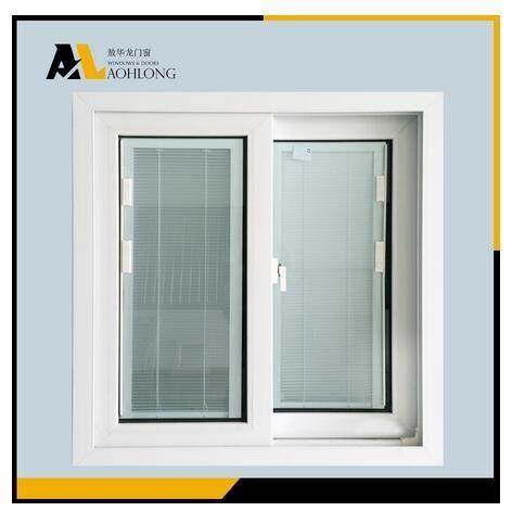 China PVC/UPVC Sliding Louver Window