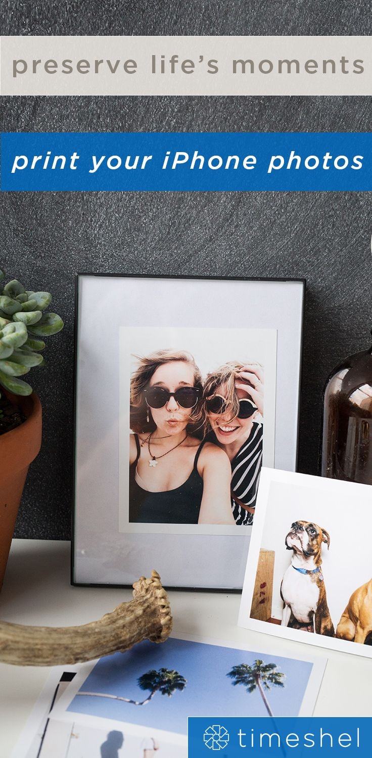 The perfect way to hold on to memories - print your iPhone photos and get them delivered to your door each month.