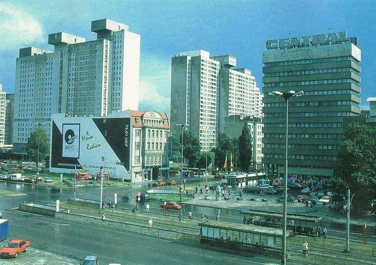 Łódź Poland, połowa lat 90tych  Piłsudskiego / Piotrkowska