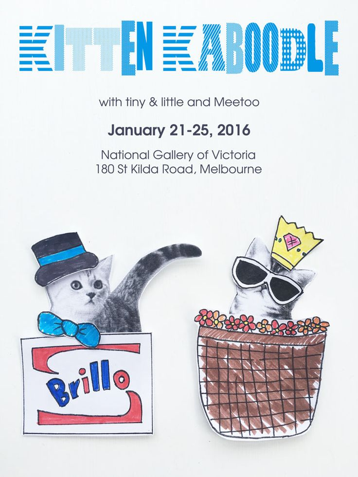 Kitten Kaboodle with tiny & little and Meetoo, National Gallery of Victoria Kids Summer Festival 2016