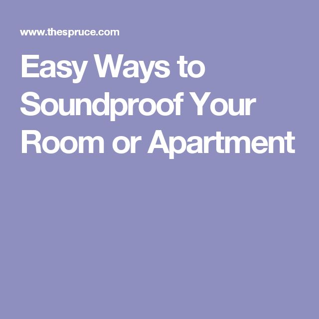 25 Best Ideas About Sound Proofing On Pinterest
