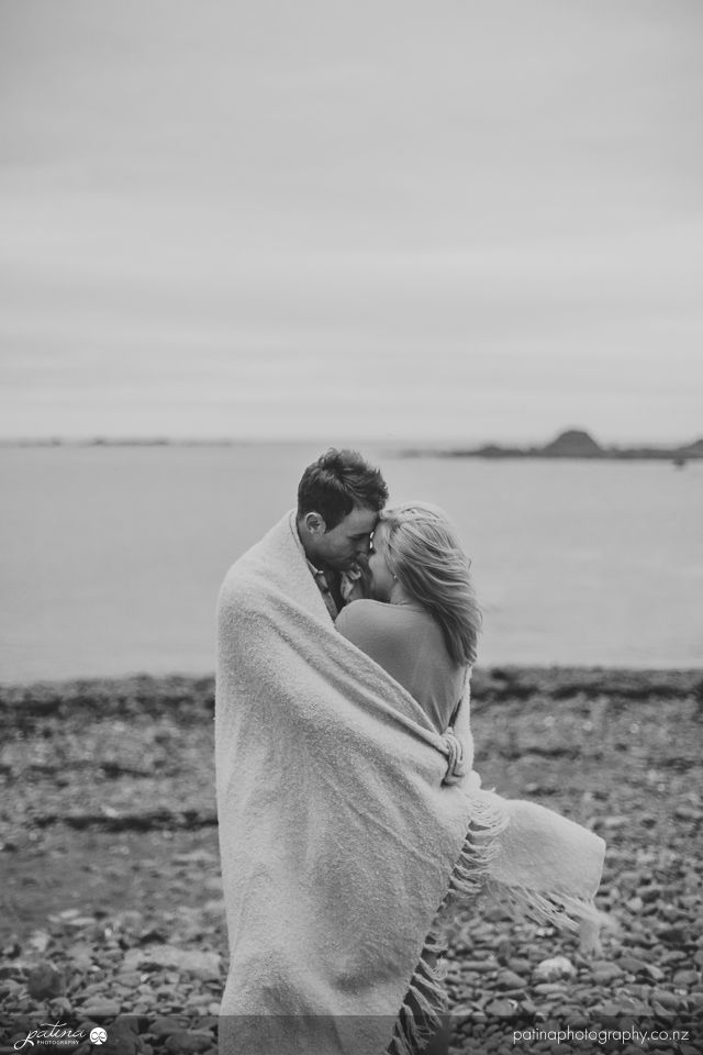 In your arms I am safe - Olivia and Michael's New Zealand engagement shoot. Patina Photography