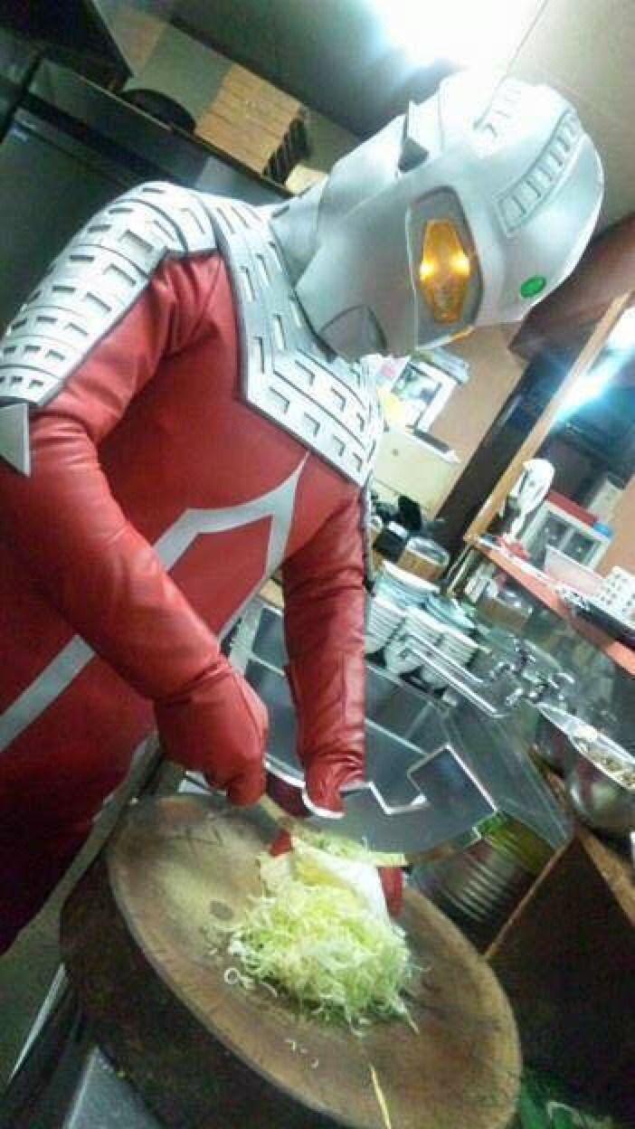 "jimpluff: "" Chef Ultra Seven! """