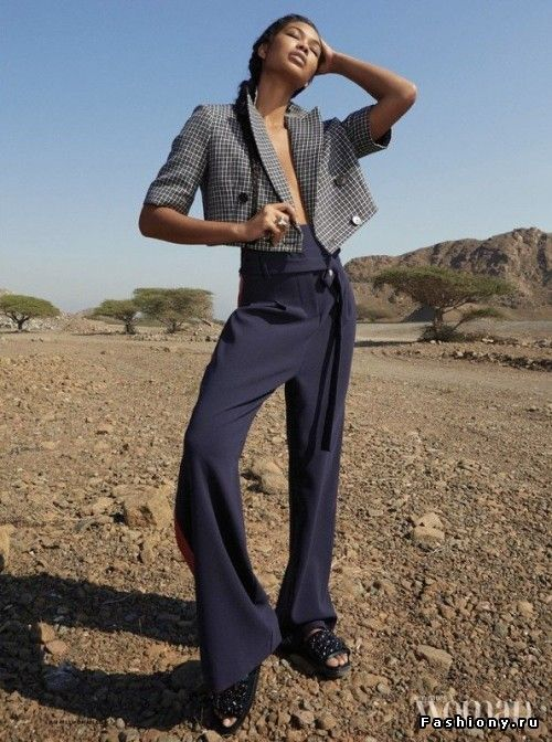 """Шанель Иман на обложке """"Emirates Woman"""""""