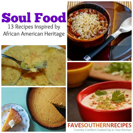 Soul food 13 recipes inspired by african american for African american cuisine