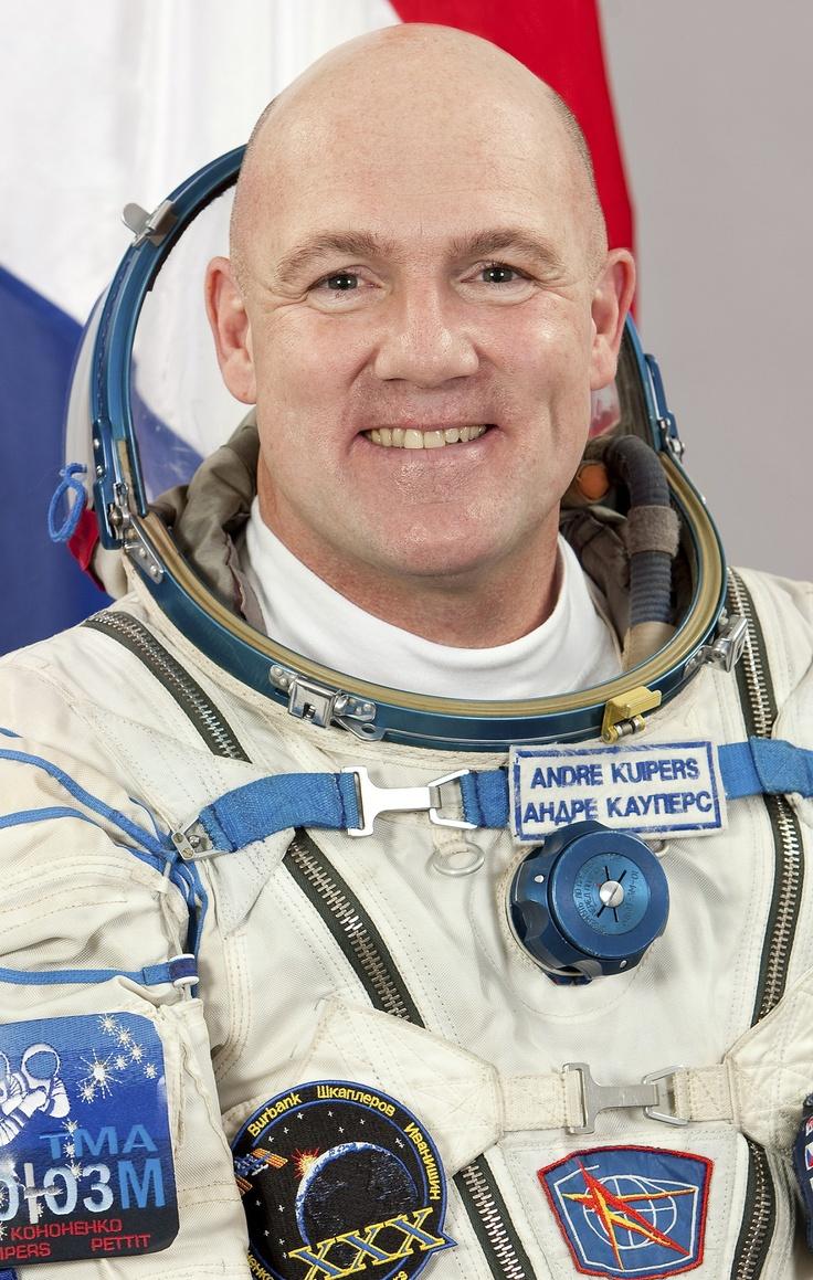 andré kuipers ~ dutch astronaute