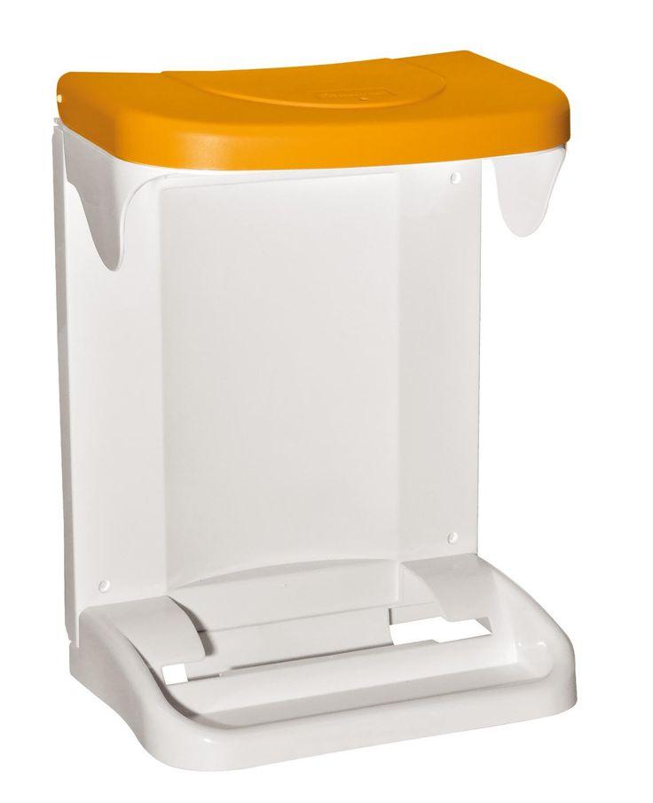 Meliconi Ecologica ajtóra szerelhető szemetes 20 literes sárga - 141084