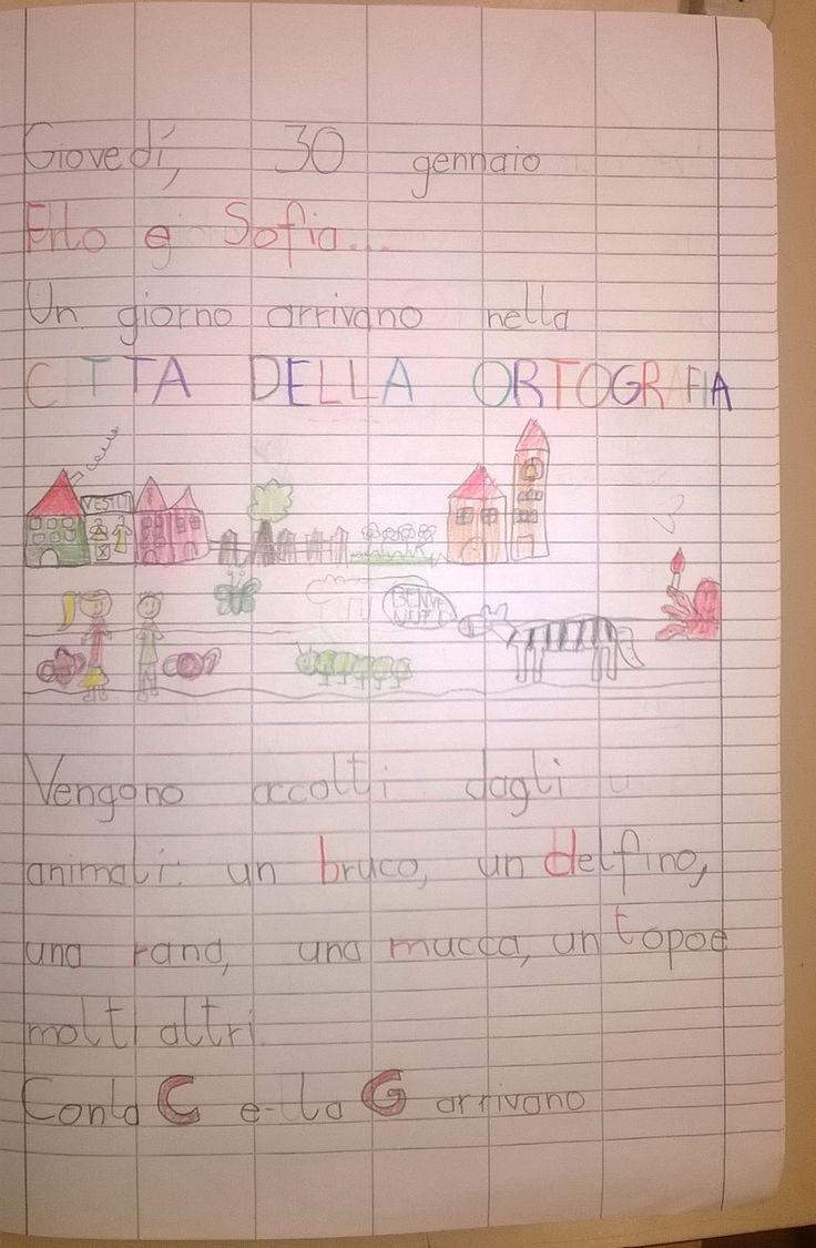 Imparare l'ortografia con una storia