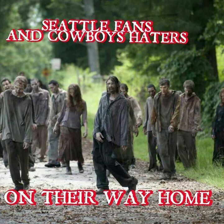 Cowboys vs Seahawks  10/12/14