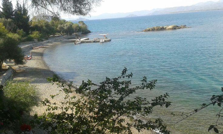 Beach is #Sovalye Island near #Fethiye #Turkey