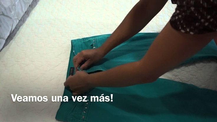 #organización #doblar #fold #folding #pantalones #drawer #cajones #gavetas #ordenar #declutter #jeans #vaqueros #pants