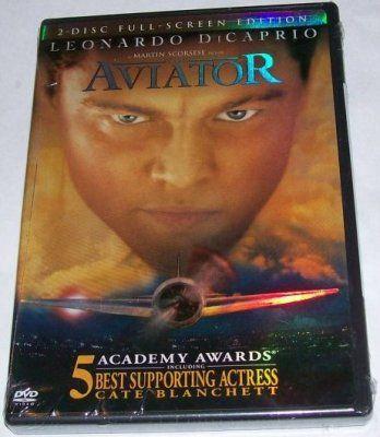 The Aviator Leonardo DiCaprio DVD Full Screen Edition 0790795248
