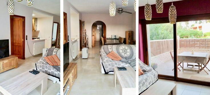 Erdgeschosswohnung Las Maravillas, nahe Playa de Palma.In Strandnähe, im Bereich Las Maravillas, bieten wir Ihnen eine sehr gepflegte Erdgeschosswohnungzum Kauf an. Diese Mallorca Immobilie verfügt über einen Wohn/Essbereich, eine offene neuwertige Küche, drei Schlafzimmer und zwei Bäder sowie ein Gäste WC.