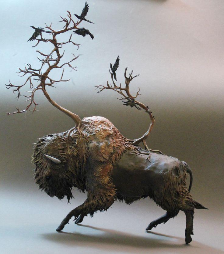 Best Ellen Jewett Sculptures Images On Pinterest Clay Art - Surreal animal plant sculptures ellen jewett