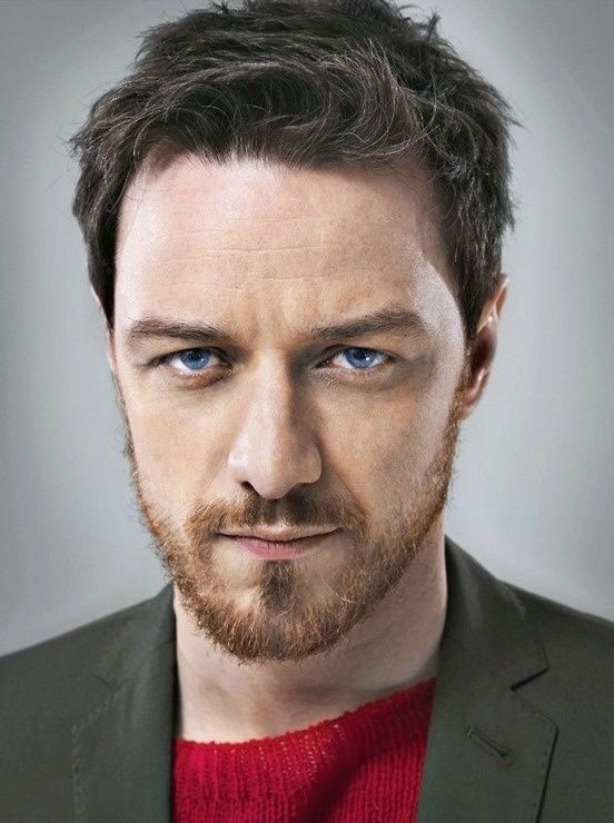 James McAvoy - Why is it that the ginger beard is sooooo hot?