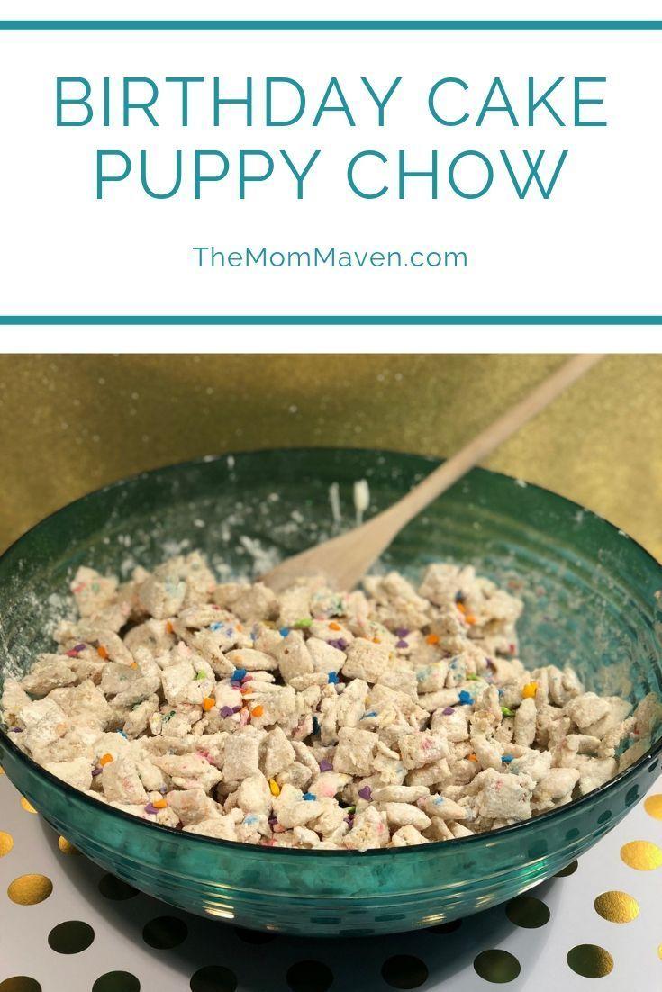 Prime Birthday Cake Puppy Chow Recipe Puppy Chow Recipes Puppy Chow Personalised Birthday Cards Bromeletsinfo