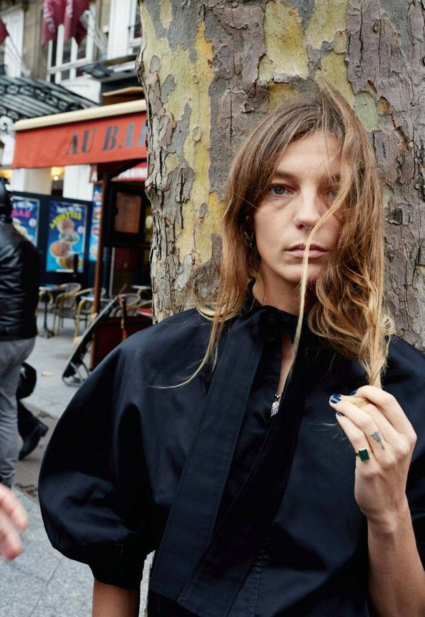 Daria Werbowy for Pop Magazine by Juergen Teller