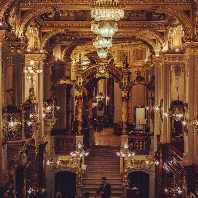 Instagram photo by @iv.travel.blog  New York Cafe • Budapest • Boscolo Hotel