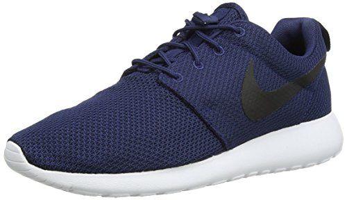 Nike Roshe One, Scarpe da Ginnastica Unisex adulto, Blu (Midnight Navy/Black-White), 42