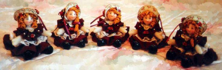 Piccoli Capricci: Un saluto dalle mie Bamboline :-)