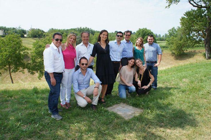 After a meeting at Fontana Masorin