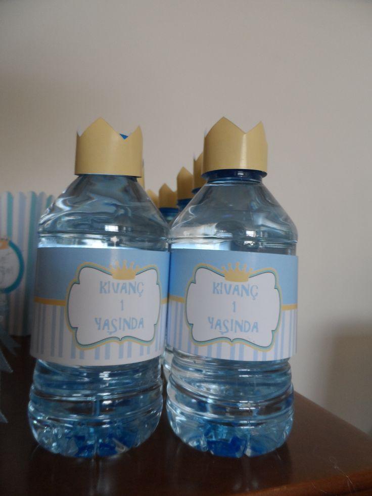 kral taçlı su şişelerimiz