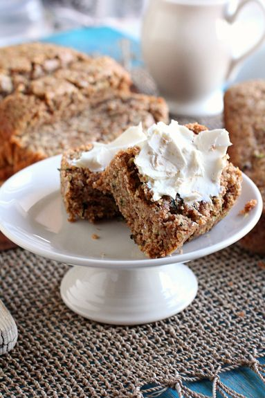 Zucchini Bread Recipe - Quinoa's rich, nutty flavor combined with the cinnamon-zucchini undertones of the bread. And a lesson in the health benefits of quinoa.