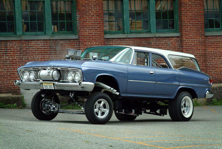 gasser wagon dare to be different!