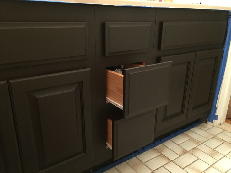 Dark Chocolate Milk Paint By General Finishes For Bathroom