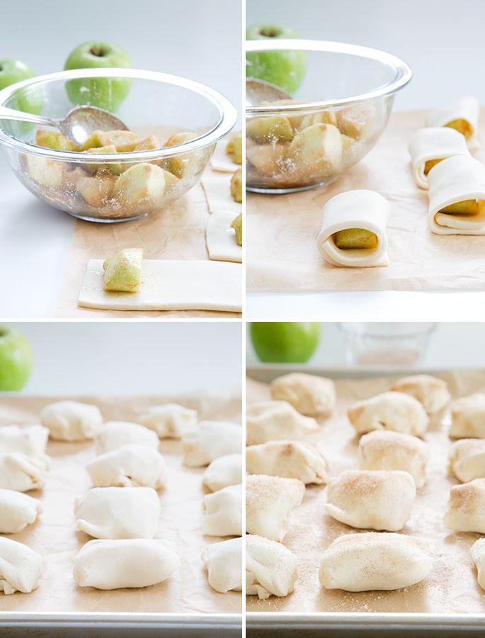 Easy gluten free apple dumplings, baked in a simple pie crust, have ...