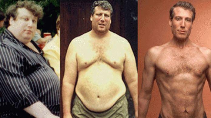 Мужчина похудел на 100 кг, соблюдая всего 7 правил, которые он вывел самостоятельно!