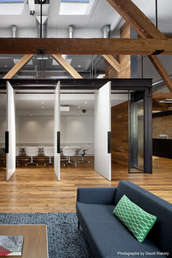 Inside Tollesons Rustic San Francisco Warehouse Offices