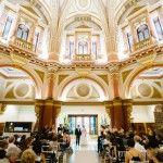 Wedding Venue: The Dome, 333 Collins Street, Melbourne Sally Hughes - Melbourne Celebrant Image: Joseph Koprek Photography