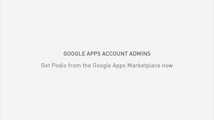 Introduction to Podio for Google Apps - YouTube