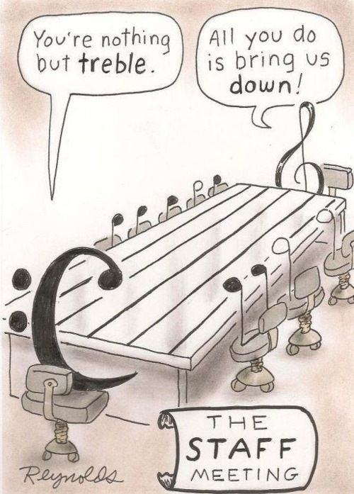 Musical theory humour.