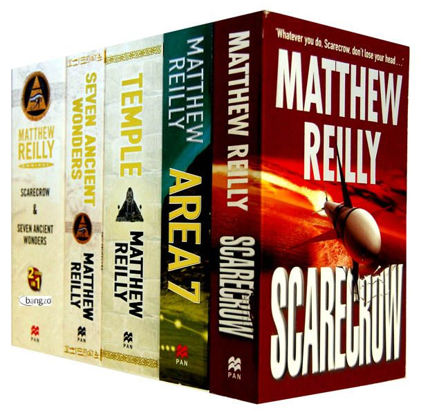 Any Matthew Reilly books are worth a read if you like suspenseful, action, or military books.