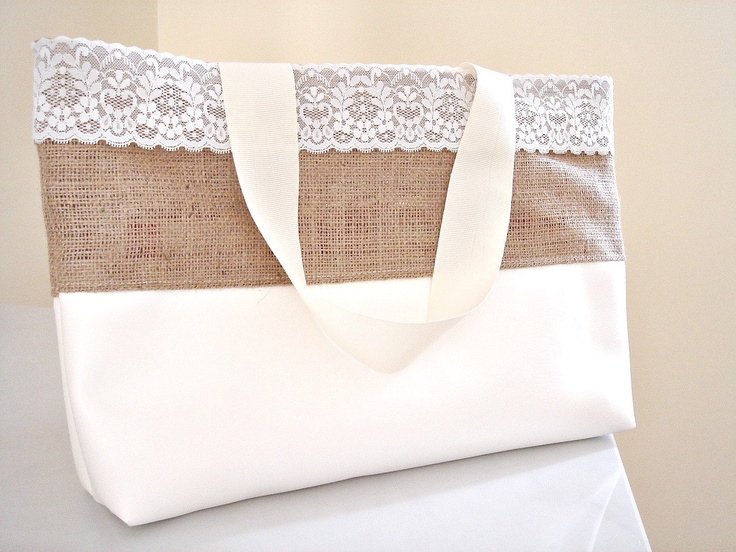 71 best images about burlap bags & purses on Pinterest