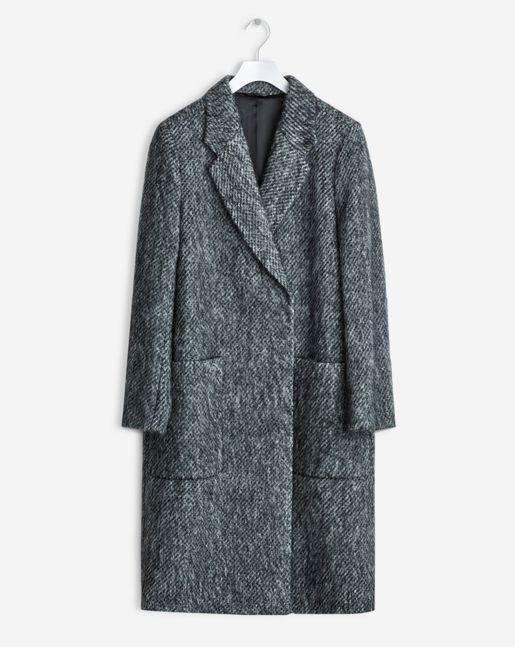 Filippa K   Lauren mohair coat antracit
