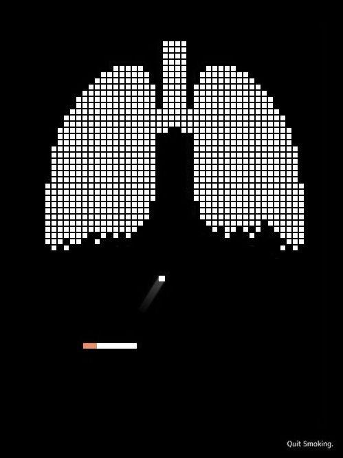 (국외)우리가 어릴적 자주하던 게임으로 재치있게 흡연에 대한 경각심을 세워준거 같아서 선정했습니다.