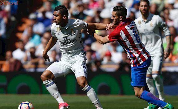 Espanhol: Atlético arranca empate do Real e renova esperanças do Barça