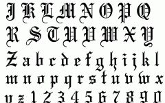 Tattoo Fonts Cool Wallpapers