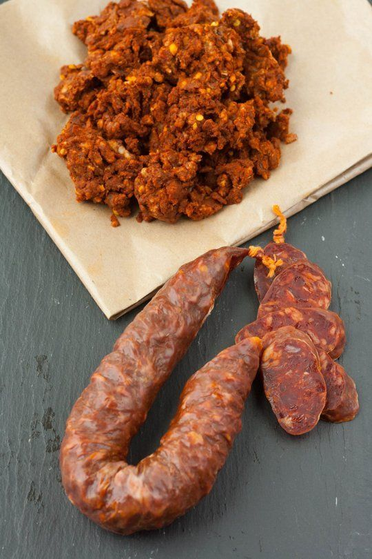 "Whenever I see chorizo in a recipe, my first thought is, ""Yum!"" But then my second thought is always, ""Wait, what kind? Spanish or Mexican?"" While they're both delicious sausages, they're both actually quite different, so here's what you need to know!"
