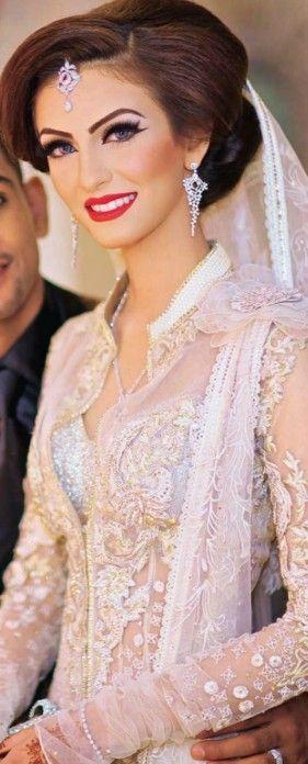 Gorg bridal makeup look http://www.pinterest.com/JessicaMpins/indian-wedding/