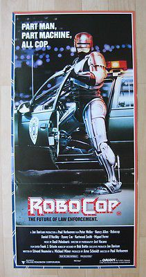 #Robocop 1987 original australian #daybill movie poster #police robot ronny cox,  View more on the LINK: http://www.zeppy.io/product/gb/2/201474122535/
