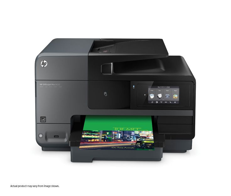 HP Officejet Pro 8620 e-All-in-One Front View