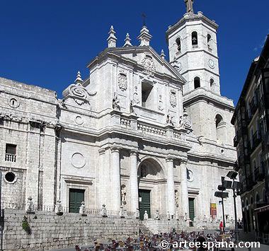 Arquitectura barroca en España: fachada de la catedral de Valladolid
