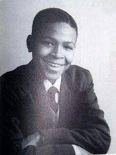 A very young Marvin Gaye.