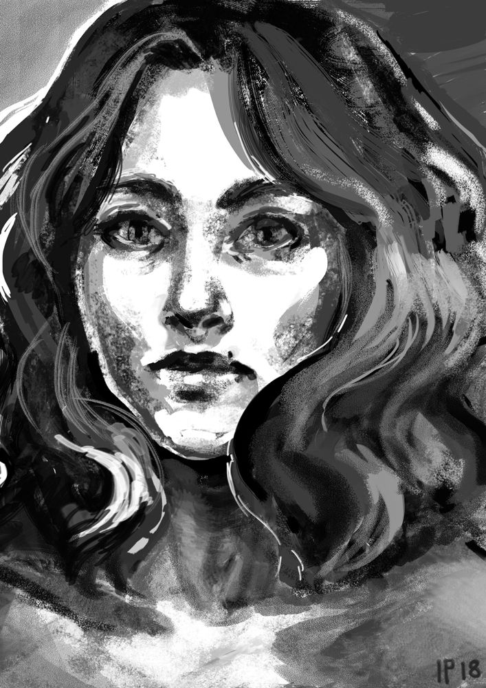 Portrait 20.02.18 by Madjsteie.deviantart.com on @DeviantArt