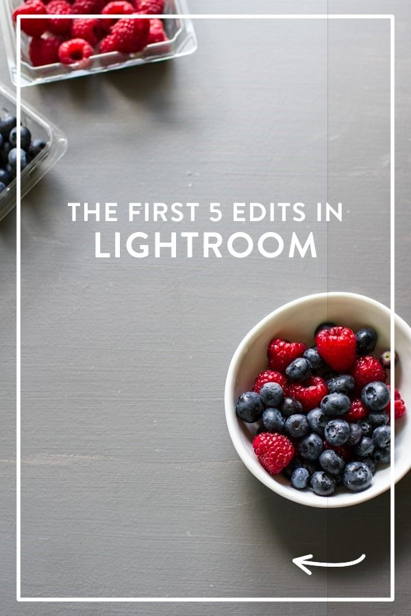 Lightroom food photography tips - editing photos from Edible Perspective.