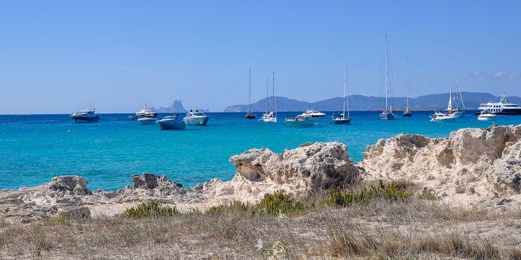 #Formentera ist ein beliebtes #Ausflugsziel mit #Schiffen © Carina Dieringer/modelirium.at